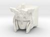 Unicorn Gundam Cherry MX Keycap (Short Horns) 3d printed