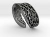 Mermaid Ring 3d printed
