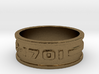 .jewelry NCC-1701 ring 3d printed