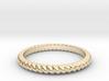 Lasso Rope Ring 3d printed