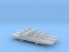 Towada-class replenishment ship x 3, 1/6000 3d printed