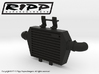RS10004 Ripp Intercooler JK - BLACK 3d printed