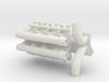 SBC Dual Turbo Intake Singles 1/12 3d printed