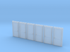 Door Type 4 - 810 X 2000 X 6 - N Scale 3d printed