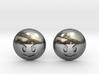 Evil Smile Emoji 3d printed
