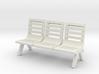 Modern Seat - Type 2 - OO Scale 3d printed