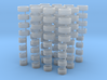 ATS Cup-Felgen und Reifen für H0 1:87 PKW - 12 Set 3d printed