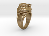 Cat Pet Ring - 18.19mm - US Size 8 3d printed