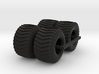 1/25 Puller Front And Rear Tires 3d printed