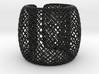 Fishnet bangle 3d printed