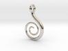 Spiral Pendant 3d printed