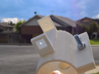 Solar Alignment Finder for Telescopes 3d printed