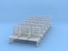Modern Seat - Type 3 X 6 - N Scale 3d printed