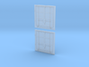 11.5h X 12w Plug Door 3d printed