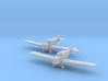 Junkers F.13 (wheels) 1:200 x2 FUD 3d printed