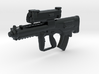 """1/18 XM-25 """"Punisher"""" CDTE 3d printed"""