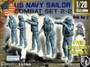 1-20 US Navy Sailors Combat SET 2-2 3d printed