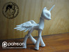 Celestia BJD Alicorn: Mini version  3d printed