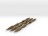 1:3 Scale Bronze Needle Bodkin Arrow Points 3d printed