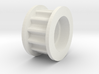 12 Tooth Top Roller Pulley S3m 3d printed