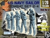 1-20 US Navy Sailors Combat SET 2-4 3d printed