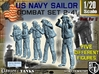 1-20 US Navy Sailors Combat SET 2-41 3d printed
