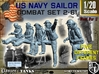 1-20 US Navy Sailors Combat SET 2-61 3d printed