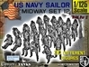 1-125 US Navy MIDWAY Set 12 3d printed