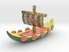 Melon Vikingship 3d printed