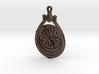 Eridu Society Teardrop Pendant - front loop 3d printed