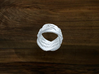 Turk's Head Knot Ring 6 Part X 4 Bight - Size 0 3d printed