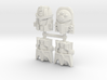 Beast Wars Face 4-Pack (Titans Return) 3d printed