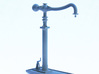 MR Water Column Control Valve (x4) 4mm Scale 3d printed Complete water crane with base, column-arm and valve