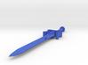 1:18 simple power sword 3d printed
