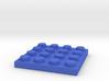 Toy Brick flat 4x4 3d printed
