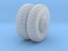 1/48 US Halftrack front wheel tyre NDT 3d printed