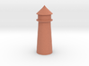 Lighthouse Pastel Dark Red 3d printed Lighthouse Pastel Dark Red