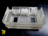 2S7 PION interior set 2 3d printed 2S7 PION/MALKA crew compartment - actual print