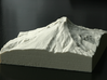4'' Mt. Hood, Oregon, USA, Sandstone 3d printed Photo of actual model