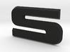 """SVO Decklid Emblem """"S"""" - Large 3d printed"""