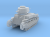 PV24D Type 89B Medium Tank (1/100) 3d printed
