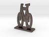 Bike Symbol Stand 3d printed