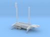 1/144 Scale Patriot Missile Communication Trailer 3d printed