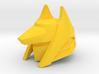 Golden Jackel Mask 3d printed