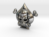 Spade Skull 3d printed