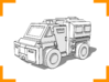 Westmaster Utility Truck 6mm 3d printed