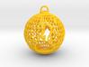 3D Printed Block Island Ball Ornament 2 3d printed