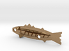 fishing lure minnow with tail 3d printed