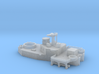 1/600 HMS Ajax Aft Superstructure 3d printed 1/600 HMS Ajax Aft Superstructure
