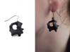Earrings Hear 3d printed